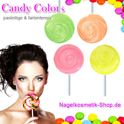 candy colors Gel
