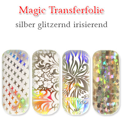 magic transferfolie Nail Art