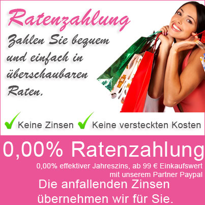 0,00% Ratenzahlung