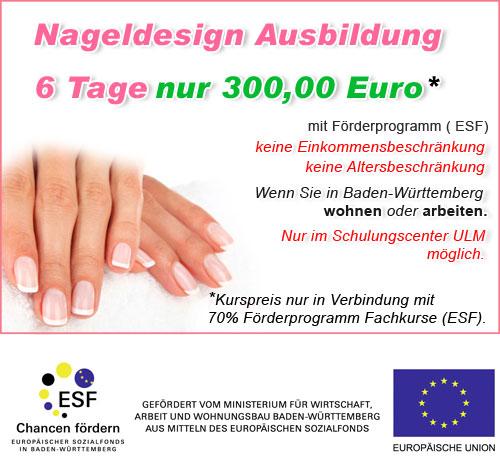 Ausbildung Nageldesign in Baden-Württemberg