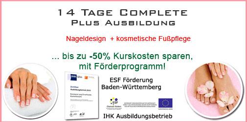 Baden-Baden Nageldesign Komplettausbildung günstig