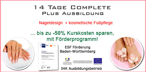 Karlsruhe Nageldesign Komplettausbildung günstig
