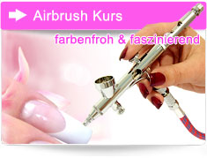 Airbrush Kurs Nageldesign