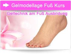 Gelmodellage Fuß Kurs Freilassing Bayern