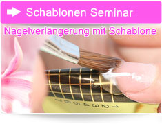 Schablonenmodellage Kurs Nageldesign