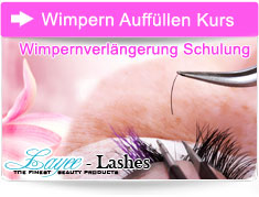 Wimpern Auffülle Kurs April