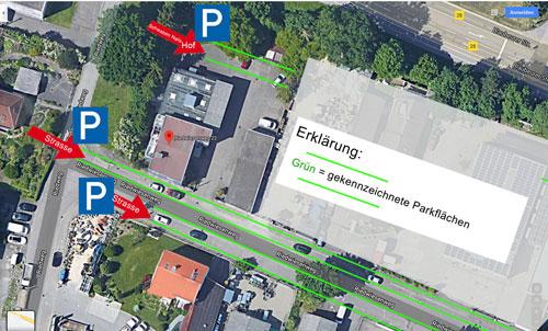 Schwaben Nails Parkplatz